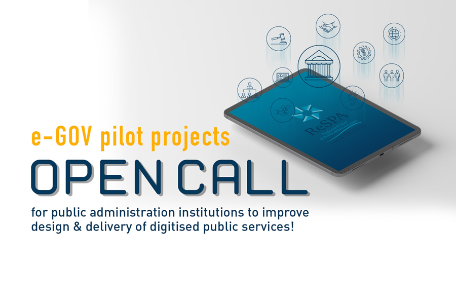 e-Gov pilots projects <br>Open call!