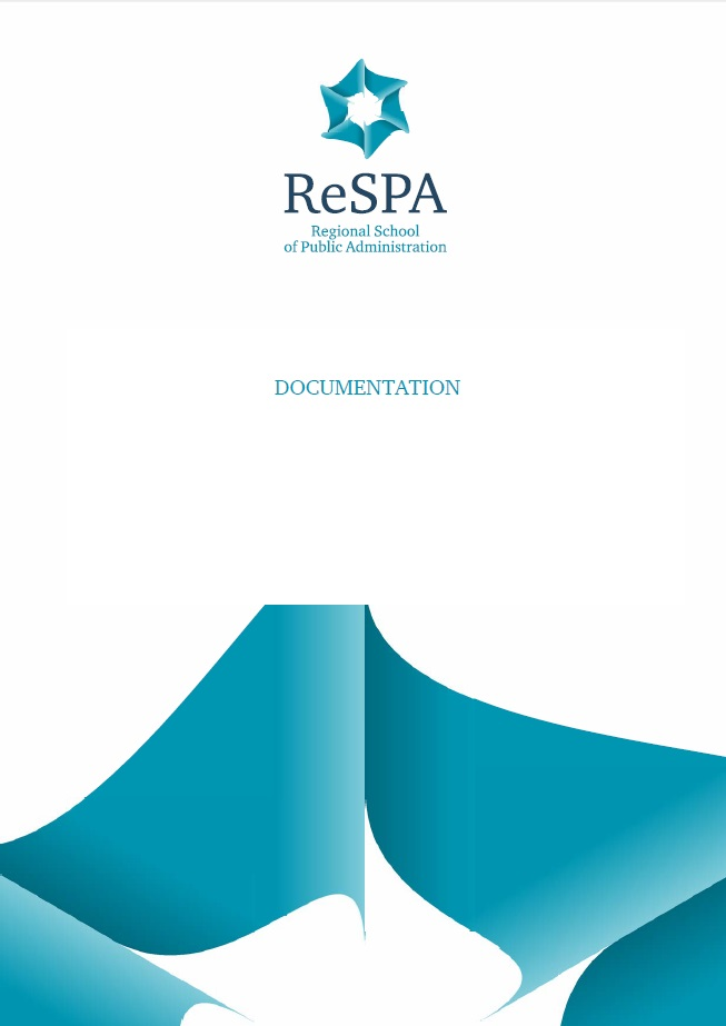 Final Strategic Framework of ReSPA 2016-2020