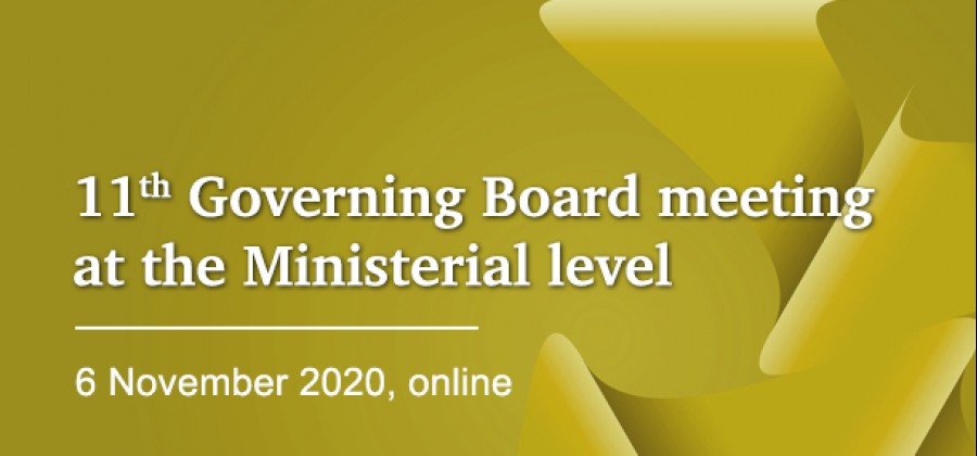 11th Governing Board meeting at the Ministerial level_10_2020