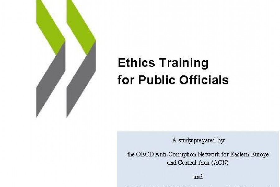 Ethics Training for Public Officials – A publication by OECD