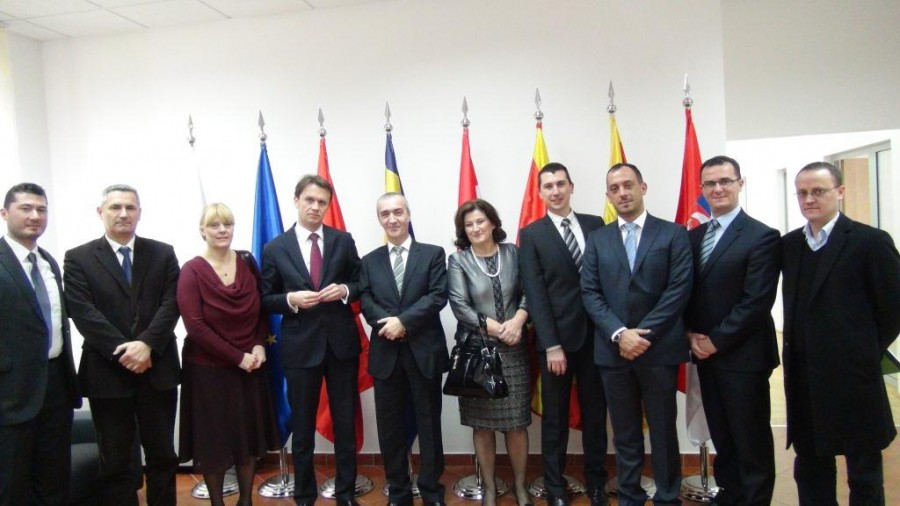 Minister Konjevic visit ReSPA