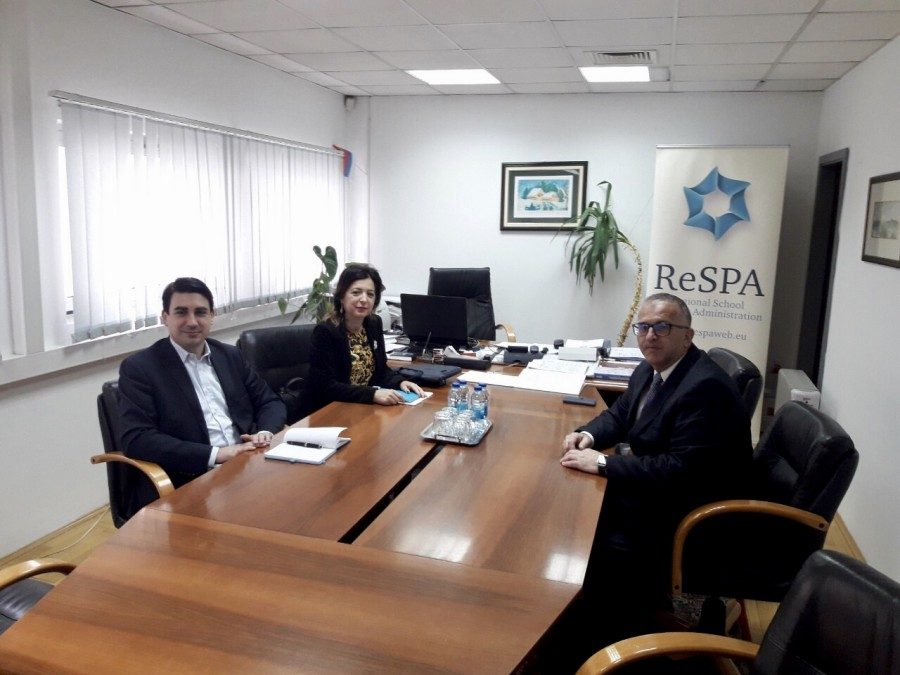 ReSPA Director met with representatives of institutions of the Republic of Srpska