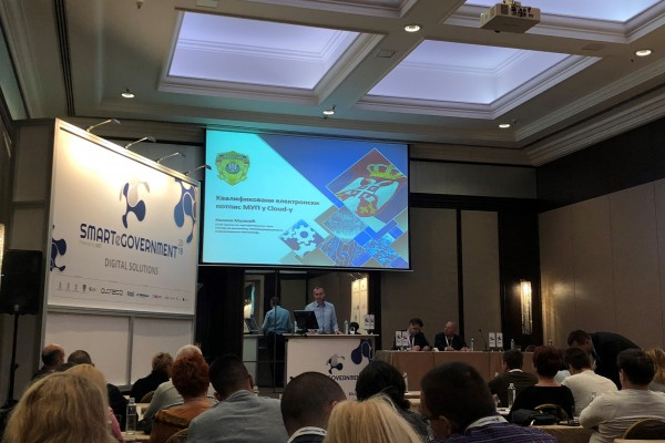 RESPA Regional study on service delivery presented at the Smart e-Government International Conference in Belgrade