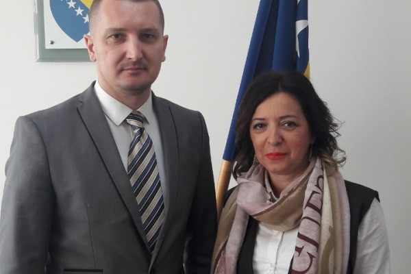 ReSPA Director held a meeting with the Minister of Justice on the State level (BiH) Mr. Josip Grubeša