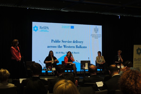 Public Service Delivery Reform towards EU Integration brings Western Balkan Ministers to Tirana