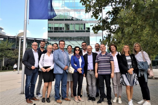 ReSPA CAF group visited Quality Management centers in Austria