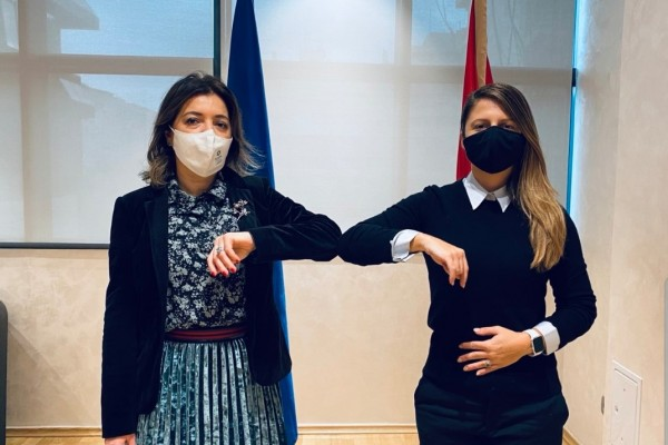 Ms Ratka Sekulović, ReSPA Director held meeting with Ms Tamara Srzentić, Minister of Public Administration, ...