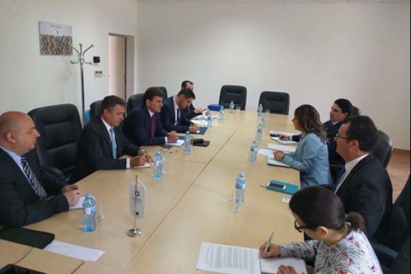 Minister of Public Administration of Kosovo*[1] visited ReSPA