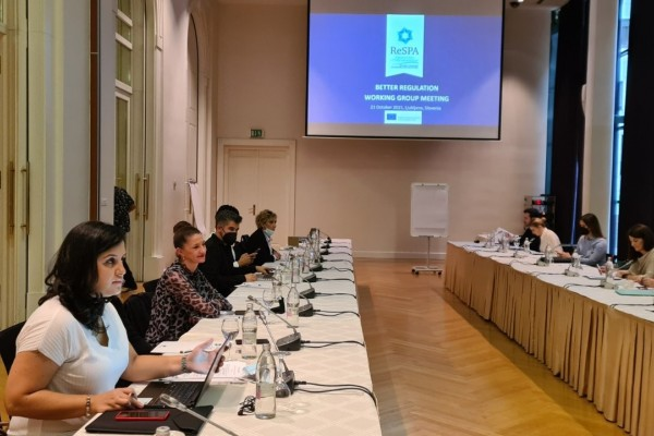 Better Regulation WG meeting focused on quality of public consultations in the Western Balkans
