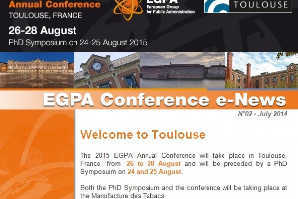 The 2015 EGPA Annual Conference