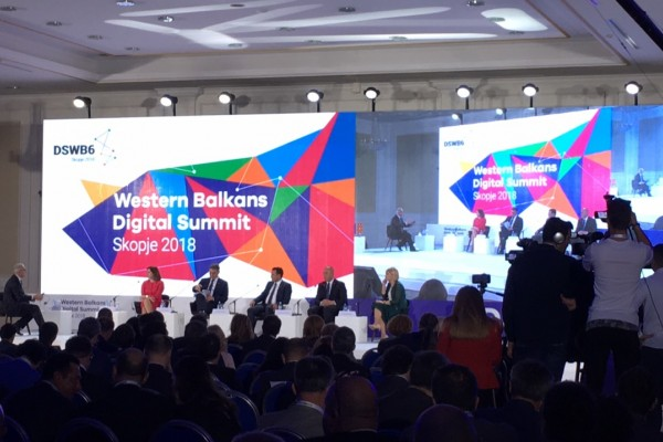 1st Balkan Digital Summit hosted by Macedonian Government