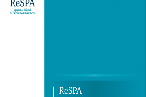 "ReSPA launches the Publication ""Regional Comparative eGovernment Study""."