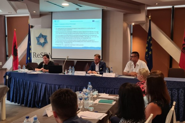 Analysis of Policy co-ordination processes in Albania
