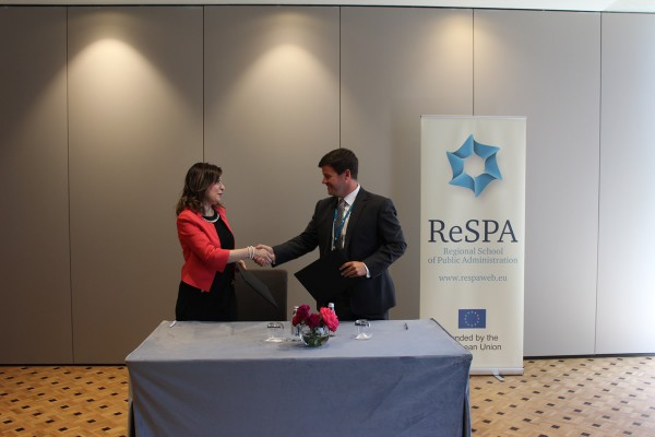 ReSPA and Ministry of Public Administration of the Republic of Slovenia signed the MoU