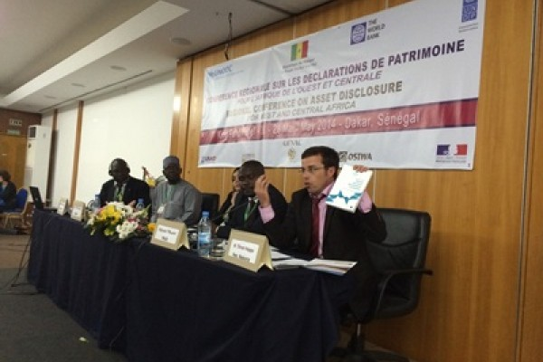ReSPA's Regional Study on Income and Asset Declarations promoted at the Regional Conference on Asset Disclosure in West and Central Africa