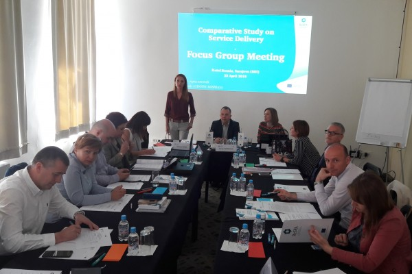 Focus Group Meetings in Sarajevo and Banja Luka within Comparative Study on Service Delivery
