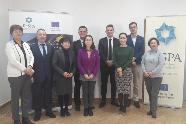 Meeting between Korean Delegation (NHI) and Representatives from ReSPA and Ministry of PA of Montenegro
