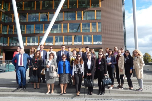Study Visit to Strasbourg: Council of Europe, European Court of Human Rights, European Parliament