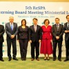 ReSPA organized the 5th Governing Board Ministerial Meeting on October 31 at the Holiday Inn in Skopje